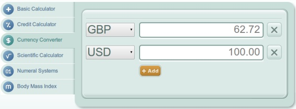 Currency Converter Online